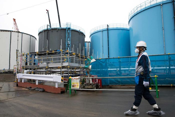 WHAT TO DO ABOUT THE RADIO ACTIVE WATER AT FUKUSHIMA ????