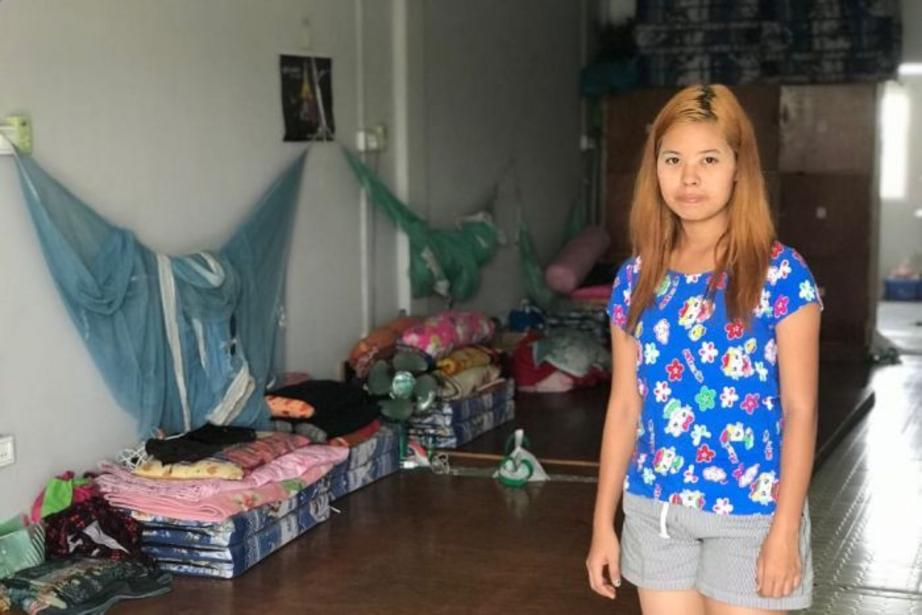 Nineteen-year-old garment worker Ohn Mar Khaing has been subjected to sexual harassment just outside her factory's walls.