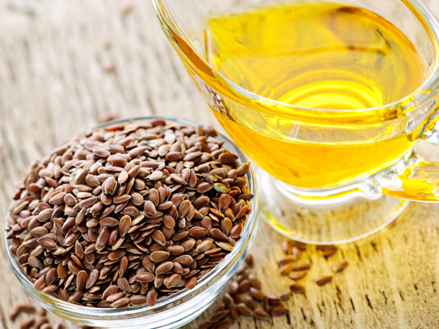 Flaxseed Oil ( Credit: publicdomainpictures.net)